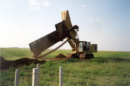 Altus Air Force Base Continuous One-Pass Trenching