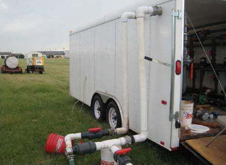 Altus Air Force Base Injection Trailer and Equipment