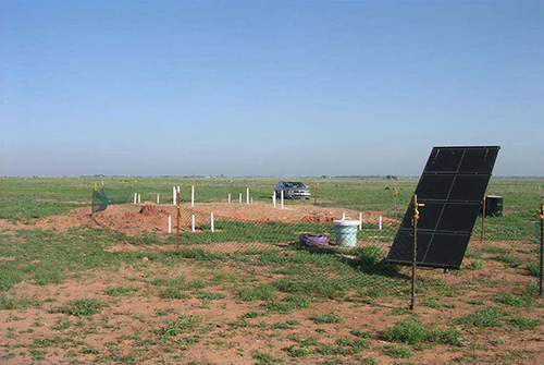 Altus Air Force Base Solar-Powered Pumping