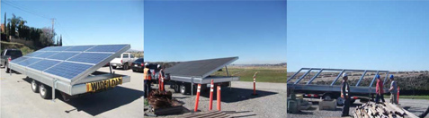 Operating Industries, Inc. Landfill Solar Pilot Arrays