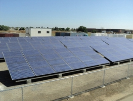 Frontier Fertilizer Superfund Site Ground-Mounted PV Panels