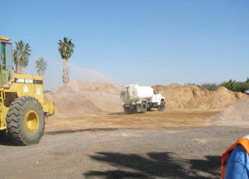 Phoenix-Goodyear Airport Superfund Site Dust Abatement