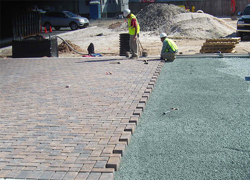 Curtis Bay Coast Guard Yard Permeable Pavement